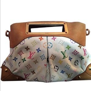 Louis Vuitton Judy multicolor 2 way satchel mm